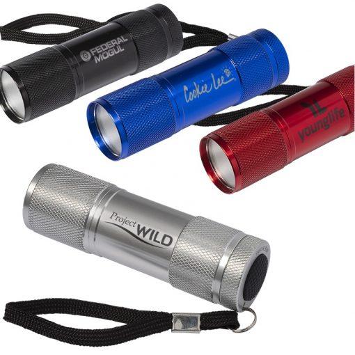 Cylinder COB Flashlight