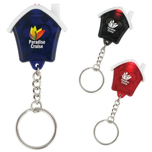 Good Value® Mini House Flashlight Keychain
