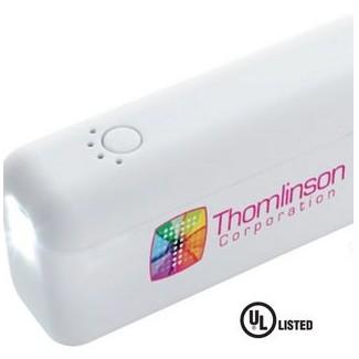 Good Value® Trim Power Bank Flashlight 2200 mAh