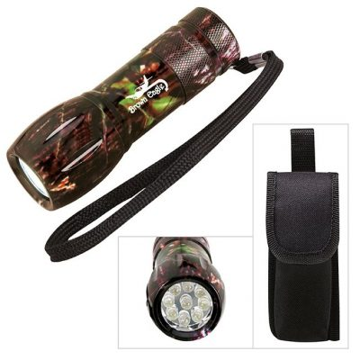 Mossy Oak® Camouflage Mini Aluminum LED Flashlight