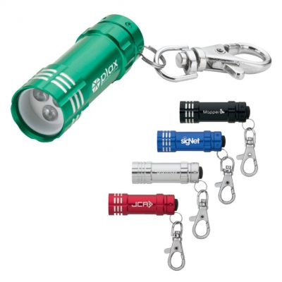 Ugo LED Flashlight with Lobster Clip
