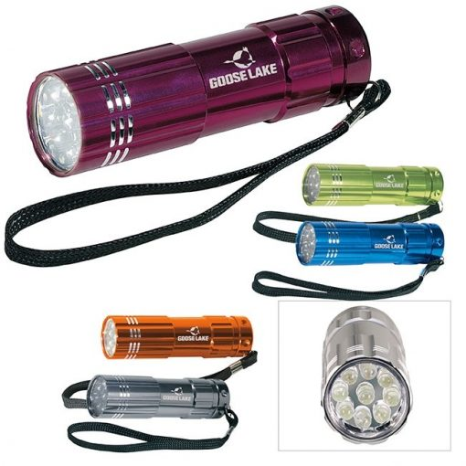 BIC Graphic® Pocket Aluminum LED Flashlight
