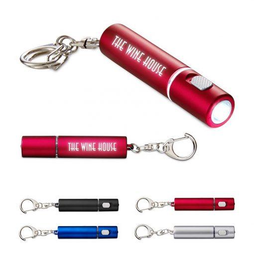 Light-Up-Your-Logo Key Flashlight