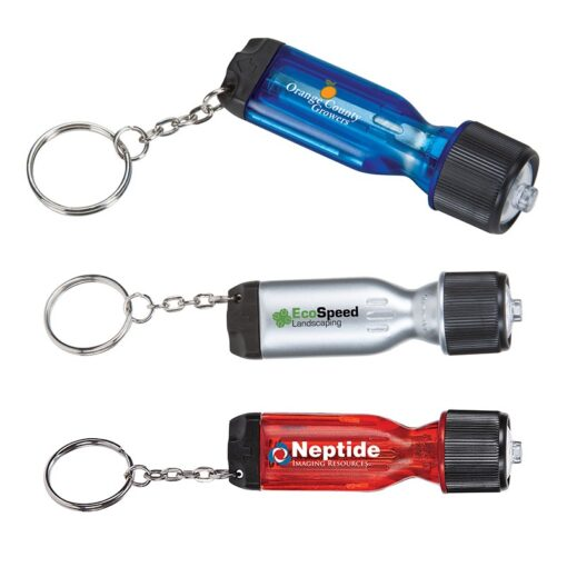 Flashlight Keychain Tool